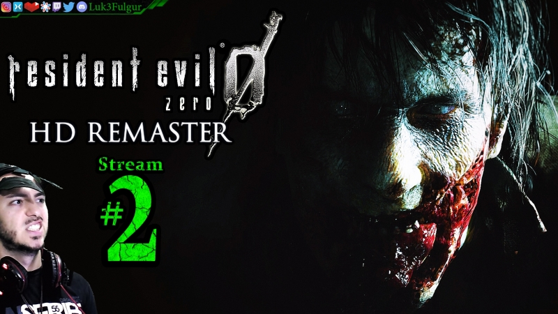 Resident Evil 0 HD 🧟🧠Pro👑PC💻Max✨2nd Stream🎋