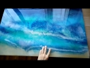 Картины из эпоксидной смолы море техника resinart