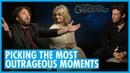 Dan Fogler, Alison Sudol and Callum Turner - Interview - Fantastic Beasts Crimes of Grindelwald
