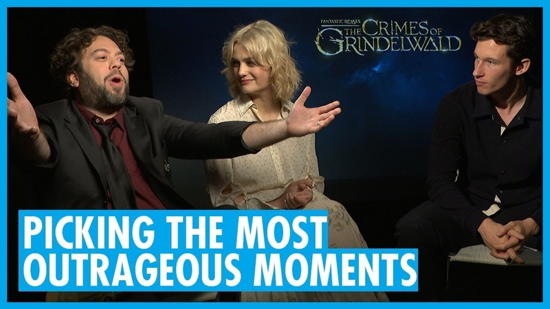 Dan Fogler, Alison Sudol and Callum Turner - Interview - Fantastic Beasts Crimes of Grindelwald