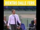 Эусебио Ди Франческо на матче Рома - Аталанта 2 тур Серии А 18/19