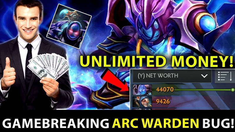 7.22 PATCH UPDATE Gameplay - Arc Warden GAMEBREAKING BUG - UNLIMITED GOLD - PLEASE FIX THIS! Dota 2