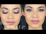 NATURAL VALENTINES DAY MAKEUP TUTORIAL!