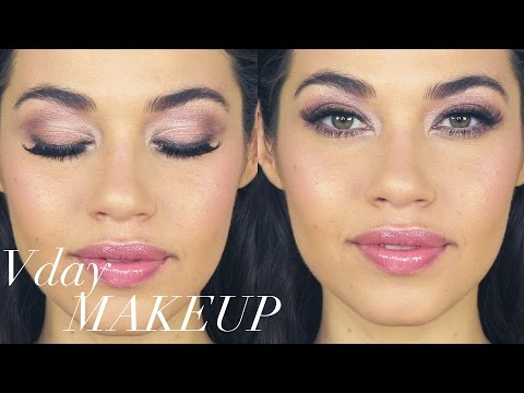 NATURAL VALENTINES DAY MAKEUP TUTORIAL! ❤ | EMAN