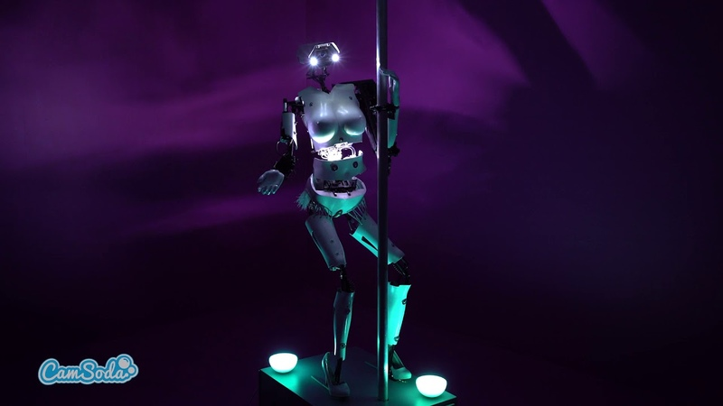 Camsoda Sex Robot - CardiBot World's First Robot Cam Girl