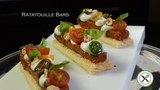 Ratatouille Bars Appetizer Bruno Albouze THE REAL DEAL
