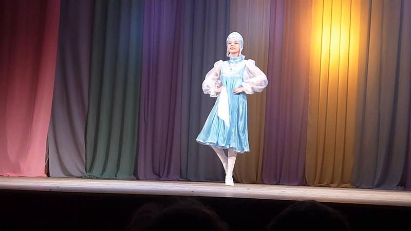 Регина Зайнутдинова-Русская красавица (ТАНЕЦ)
