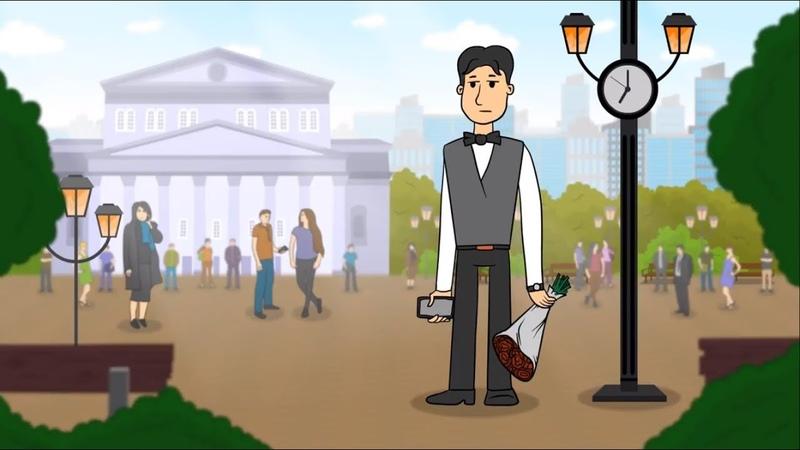 Анимационный ролик для мобильного приложения