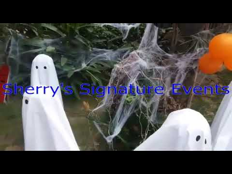 Amazing Day View of Halloween Decoration Theme Event Ideas by Sherry's Signature Events