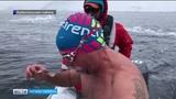 Тюменский морж покорил воды Антарктиды