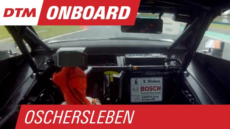 Robert Wickens (Mercedes-AMG C 63 DTM) - Re-Live Onboard (Race 2) - DTM Oschersleben 2015