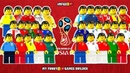 2018 FIFA World Cup • Russia 2018 Preview in Lego Football Film Animation