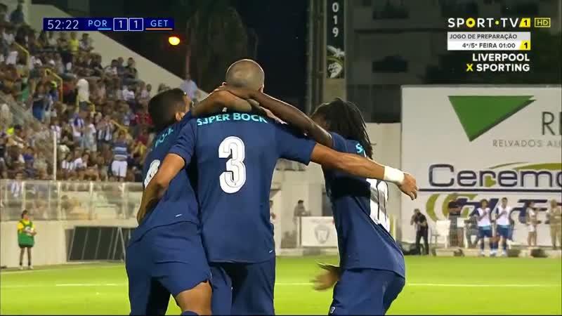 Гол Пепе 52 минута Порту Хетафе 2 1