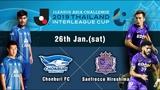 ASIA CHALLENGE 2019 THAILAND Chonburi FC vs Sanfrecce Hiroshima
