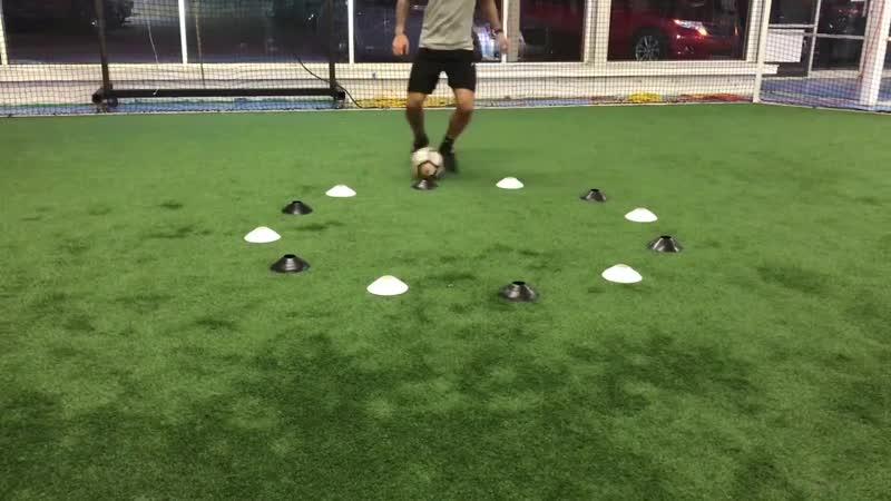 Technical soccer drills. Bri Amos