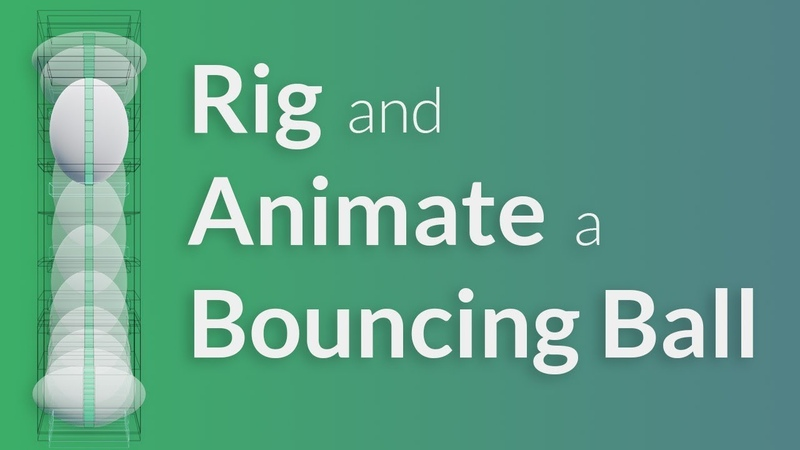 CGC Classic Rigging and Animating a Bouncing Ball (Blender 2.6)