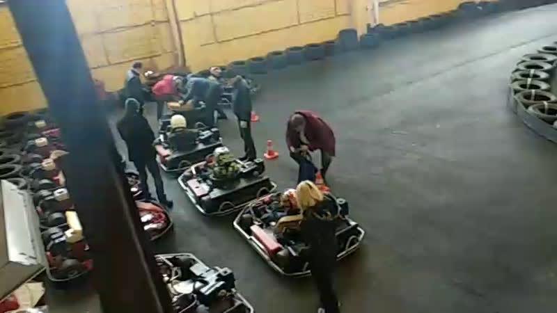 Соревнования юниоров в Corsa Karting Брянск vs Смоленск