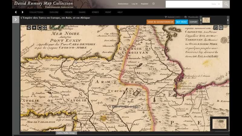 Древний Азербайджан, Независимая Армения. Аральское и Каспийское море.mp4
