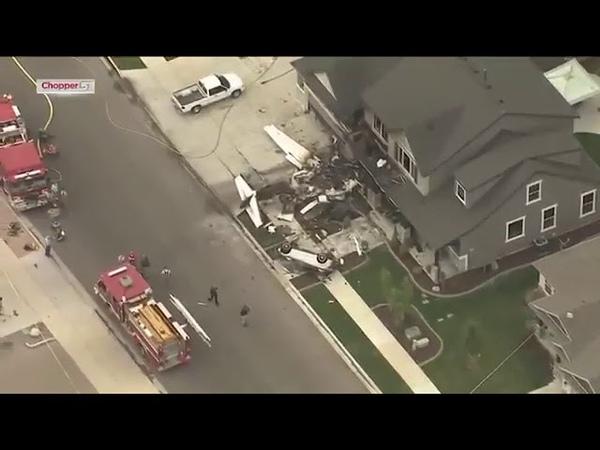 أمريكي يسرق طائرة ويصطدم بمنزله محاولاً ق15