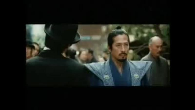 Последний самурай Сцена, не вошедшая в основную версию фильма