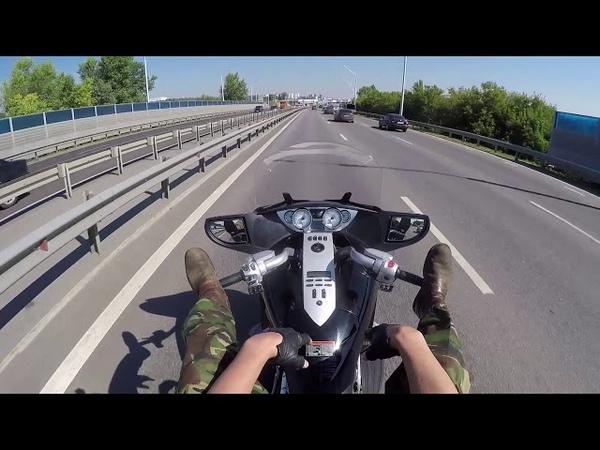 Единственный способ легально ехать на мотоцикле без доков!