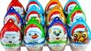 Новогодний КИНДЕР СЮРПРИЗ 2019! Новая серия игрушек КИНДЕР СЮРПРИЗ Unboxing Kinder Surprise