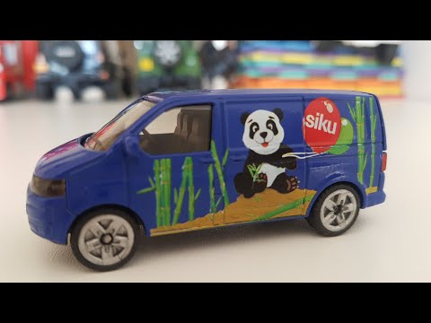 Today's new Youtube Kids video about VW Siku Car unboxing
