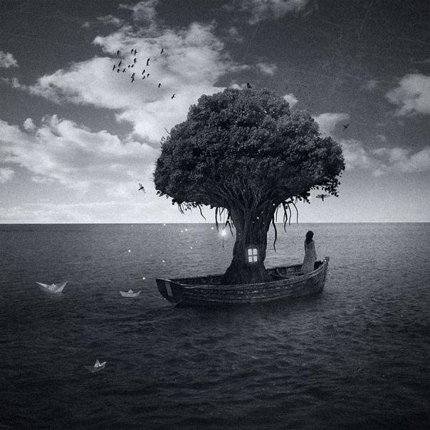 Творчество Мануэля Родригеса Санчеса. Он изучает графический дизайн, увлекается фотографией и неплохо соединяет эти два занятия в своих сюрриалистичных