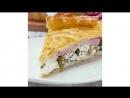 Пирог из слоеного теста со шпинатом | Больше рецептов в группе Кулинарные Рецепты