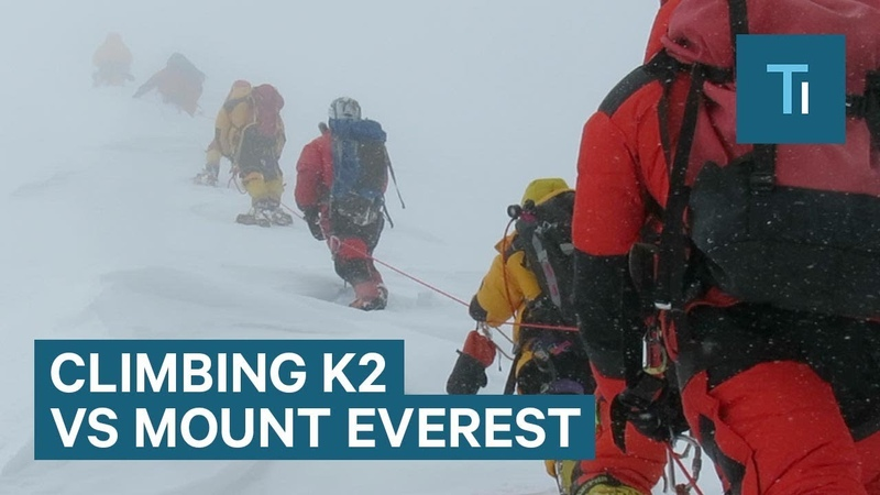 Why K2 is a harder climb than Mt. Everest