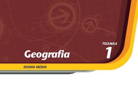 01 - O espaço da Geografia - Geografia - Ens. Médio - Telecurso