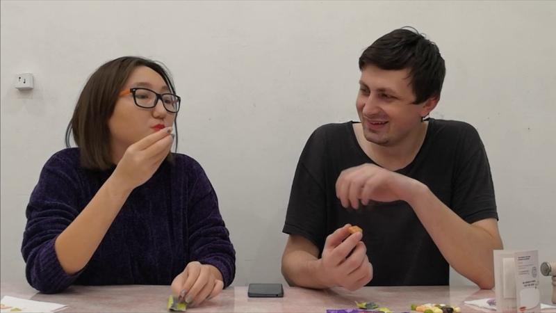 Блог №1 Поедаем BERTIE BOTTS BEANS из фильма Гарри Поттер и пару китайских конфет