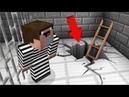 Преступник нашел супер выход и сделал побег из тюрьмы в Майнкрафт! Копы и преступники нуб minecraft