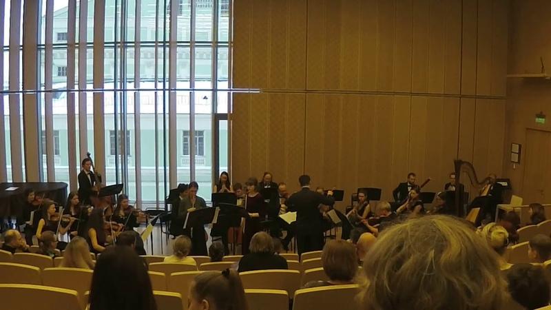 Ф. Допплер Дуэт для двух флейт с оркестром на тему из оперы Верди Риголетто.