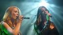 Simone Simons Epica feat Floor Jansen Nightwish Sancta Terra Live HD