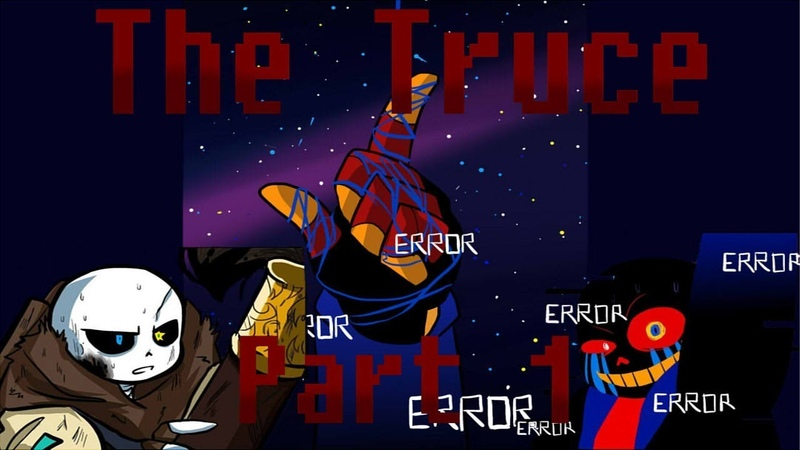The Truce [IUndertale Comic Dub Part 1]