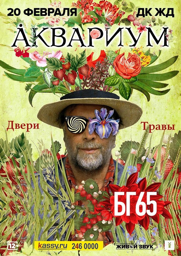 Афиша Челябинск 20/02 / Аквариум / Челябинск / ДК ЖД