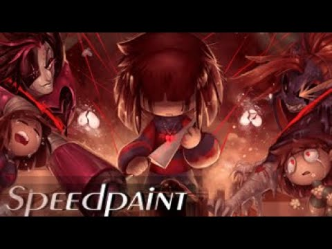 Ultimate Undertale Speedpaint (Full compilation) - Genocide Rout