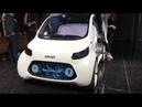 Smart Vision EQ ForTwo Concept @ IAA Frankfurt 2017