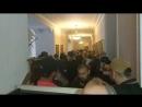 Беспорядки в Харькове неонацисты прорвались в здание горсовета