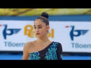 Алина Адилханова - обруч (личное многоборье) // World Championships - Sofia, Bulgaria - 10-16.09.18