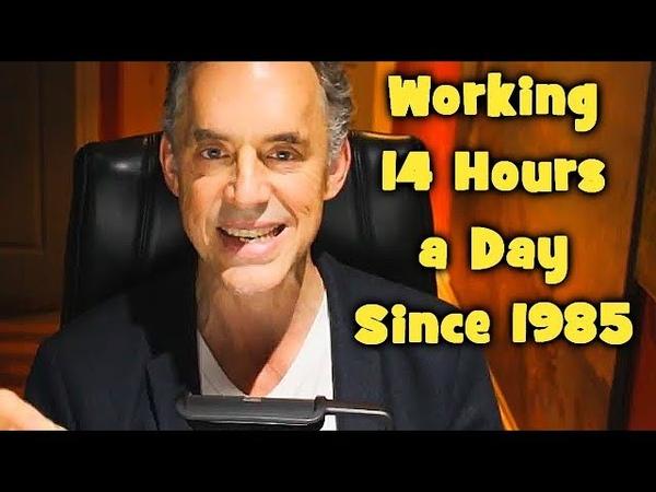 Jordan Peterson's Daily Lifestyle Schedule