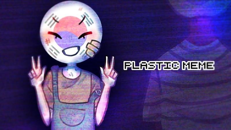PLASTIC | MEME COUNTRYHUMANS | self-harm