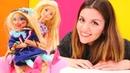Barbie oyunları. Chelsea makyaj yapıyor! Komik video