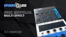 W. A. Production SphereQuad - Semi Modular Multi Effect Plugin (VST / VST3 / AU / AAX)