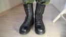 Яловые берцы на гвоздях. Combat Russin boots