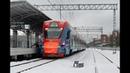 Усово Москва Белорусский вокзал на электропоезде ЭГ2Тв 002 Иволга Северная сторона