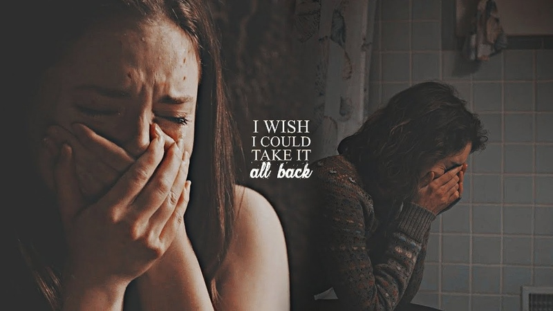 ► sad multifandom | I wish I could take it all back.