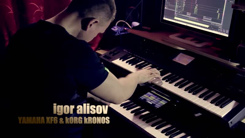 Диско-поп 80-х на Korg Kronos!
