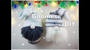 DIY Easy Sock Gnome for Christmas ❀ Emily's Small World ❀